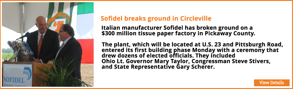 Sofidel breaks ground in Circleville
