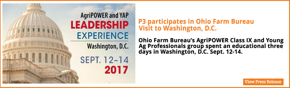 Ohio Farm Bureau's AgriPOWER Class IX and Young Ag Professionals group spent an educational three days in Washington, D.C. Sept. 12-14.